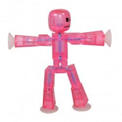 STIKBOT personaggio STIK umano ROSA zanimation studios SNODATO età 4+