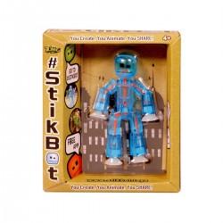 STIKBOT personaggio STIK umano BLU zanimation studios SNODATO età 4+