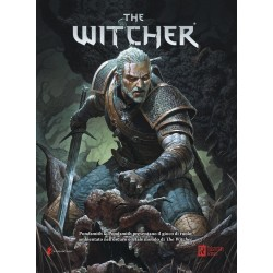 THE WITCHER gioco di ruolo in italiano GDR MANUALE BASE Need Games 2018 cartonato