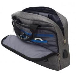 34773fe76c4b05 BUSINESS BAG carry on GRIGIO CHIARO invicta UFFICIO borsa CON MANICI porta  computer 13