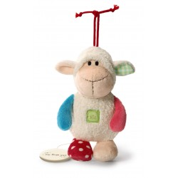 CARILLON PECORELLA peluche SHEEP my first NICI pupazzo PECORA Brahms 0 MESI + NICI - 2