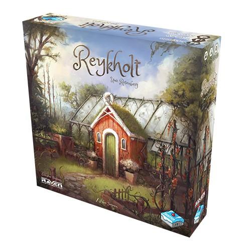 REYKHOLT edizione italiana RAVEN islanda GESTIONE RISORSE gioco da tavolo rosaNB