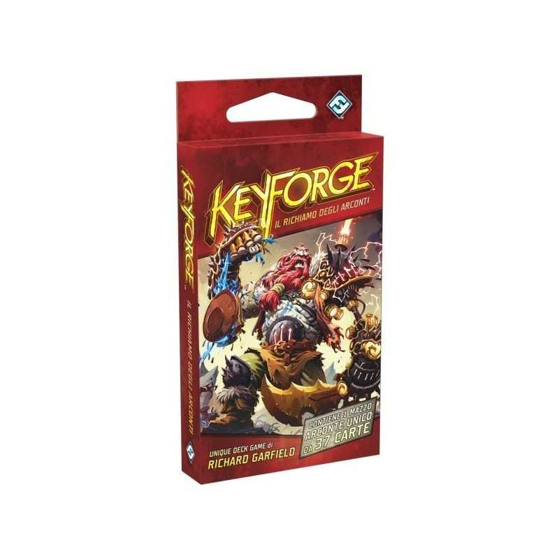 KEYFORGE il richiamo degli arconti MAZZO da 37 carte DECK GAME rda ESPANSIONE età 10+ Asmodee - 1