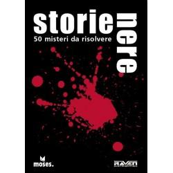 STORIE NERE 50 misteri da risolvere COMPLICATI E MACABRI Raven GIOCO DI CARTE rompicapo 12+ Raven Distribution - 1
