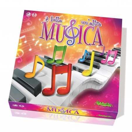 E' TUTTA UN'ALTRA MUSICA giocare e suonare GIOCO EDUCATIVO Creativamente IN ITALIANO età 6+ Creativamente - 1