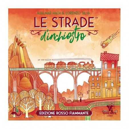 LE STRADE D'INCHIOSTRO puzzle game EDIZIONE ROSSO FIAMMANTE ghenos games INCLUDE 2 ESPANSIONI età 8+ Ghenos Games - 1