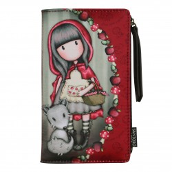 PORTAFOGLI LARGE morbido LITTLE RED RIDING HOOD rosso SANTORO wallet GORJUSS borsello 871GJ02 Santoro - 1