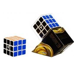 V-CUBE 3 cubo di rubik ROMPICAPO nuovo design CUBO veloce liscio scorrevole 3X3 età 6+ DAL NEGRO - 1