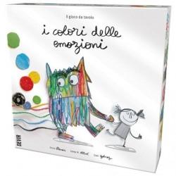 I COLORI DELLE EMOZIONI il gioco da tavolo del libro DEVIR educativo PER FAMIGLIE età 4+ DEVIR - 1