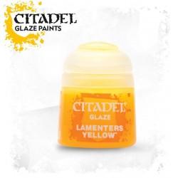 LAMENTERS YELLOW paint glaze 12ml Citadel colore giallo per modellismo Games Workshop - 1