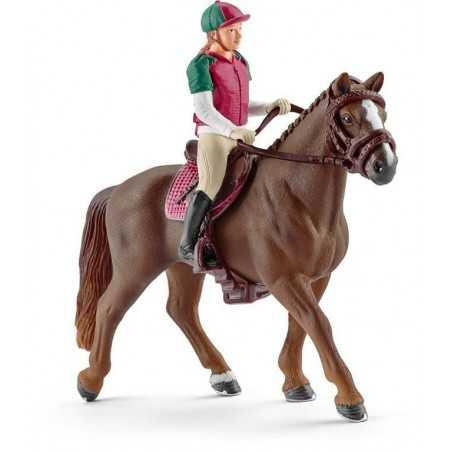 CAVALLERIZZA CONCORSO COMPLETO cavallo HORSE CLUB schleich 42288 mare DISARCIONABILE età 5+ Schleich - 1