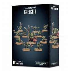 GRETCHIN KAKKOLE DEGLI ORKI orchi GAMES WORKSHOP 10 miniature CITADEL Warhammer 40000 40k 12+ Games Workshop - 1