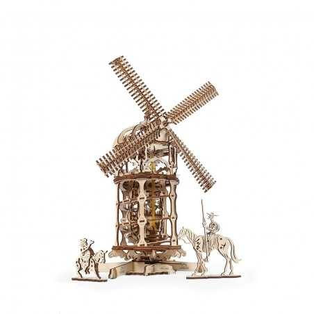 MULINO A VENTO costruzioni U GEARS gioco C'ERA UNA VOLTA windmill A ELASTICO età 14+ Ugears - 1