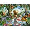 PUZZLE ravensburger AVVENTURE NELLA GIUNGLA 1000 pezzi SOFTCLICK originale 50 x 70 cm Ravensburger - 2