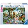 PUZZLE ravensburger AVVENTURE NELLA GIUNGLA 1000 pezzi SOFTCLICK originale 50 x 70 cm Ravensburger - 1