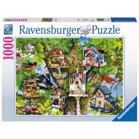 PUZZLE ravensburger BIRD VILLAGE 1000 pezzi IL VILLAGGIO DEGLI UCCELLI originale 50 x 70 cm Ravensburger - 1