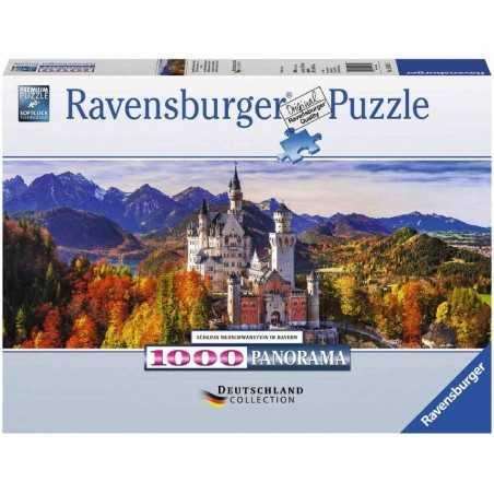 PUZZLE ravensburger CASTELLO NEUSCHWANSTEIN 1000 pezzi BAVIERA originale 50 x 70 cm Ravensburger - 1