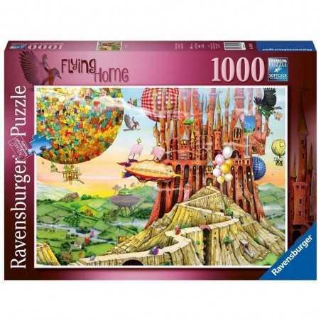 PUZZLE ravensburger FLYING HOME 1000 pezzi COLIN THOMPSON originale 50 x 70 cm Ravensburger - 1