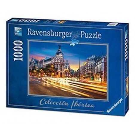 PUZZLE ravensburger GRAN VIA A MADRID 1000 pezzi COLLECCION IBERICA originale 50 x 70 cm Ravensburger - 1