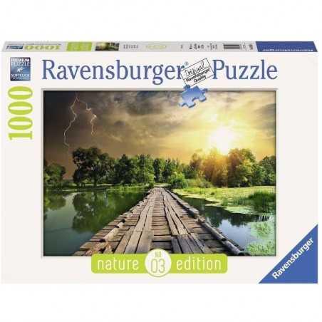 PUZZLE ravensburger LUCE MISTICA 1000 pezzi NATURE EDITION 03 originale 50 x 70 cm Ravensburger - 1