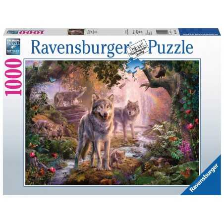PUZZLE ravensburger LUPI D'ESTATE 1000 pezzi SUMMER WOLVES originale 50 x 70 cm Ravensburger - 1