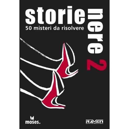 STORIE NERE 2 gioco di carte 50 MISTERI DA RISOLVERE Salani INVESTIGAZIONE rompicapo 12+ Raven Distribution - 1