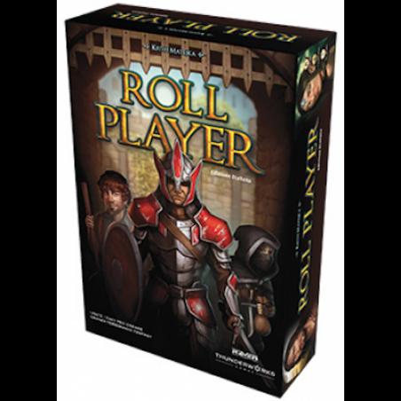 ROLL PLAYER edizione italiana RAVEN thunderworks CREA L'EROE PERFETTO gioco da tavolo 10+ Raven Distribution - 1