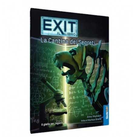 La cantina dei segreti EXIT librogame IL LIBRO escape room ITALIANO gioco PRINCIPIANTI rompicapo 12+ Giochi Uniti - 1