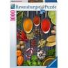 PUZZLE ravensburger SPEZIE SUL TAVOLO 1000 pezzi SOFT CLICK originale 50 x 70 cm Ravensburger - 1