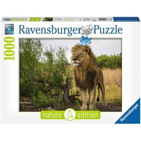 PUZZLE ravensburger RE DEI LEONI 1000 pezzi NATURE EDITION 14 originale 50 x 70 cm Ravensburger - 1