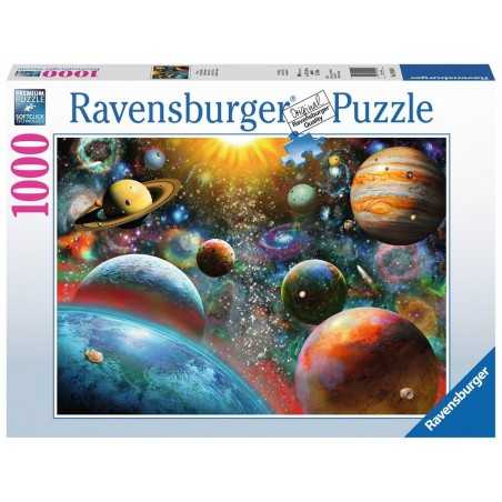 PUZZLE ravensburger VISTA DALLO SPAZIO 1000 pezzi PLANETARY VISION originale 50 x 70 cm Ravensburger - 1