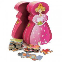 Puzzle princesse et la grenouille, 36 PCs, 4 ans +