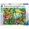 PUZZLE ravensburger FIND THE FROG softclick 1500 PEZZI cerca le rane 80 X 60 CM ranocchie Ravensburger - 1