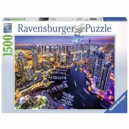 PUZZLE ravensburger DUBAI NEL GOLFO PERSICO softclick 1500 PEZZI premium 80 X 60 CM Ravensburger - 1