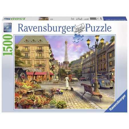 PUZZLE ravensburger VINTAGE PARIS softclick 1500 PEZZI premium 80 X 60 CM Ravensburger - 1