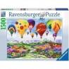 PUZZLE ravensburger LA PRIMAVERA E' NELL'ARIA softclick 1500 PEZZI spring is in the air 80 X 60 CM Ravensburger - 1