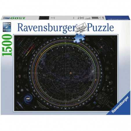 PUZZLE ravensburger UNIVERSO softclick 1500 PEZZI map of the universe 80 X 60 CM Ravensburger - 1