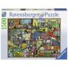 PUZZLE ravensburger OGGETTI RUMOROSI softclick 1500 PEZZI cling clang clatter 80 X 60 CM Ravensburger - 1