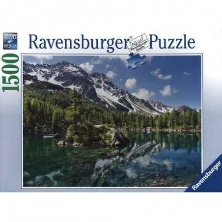 PUZZLE ravensburger MAGIE D'ALTA QUOTA softclick 1500 PEZZI mountain magic 80 X 60 CM Ravensburger - 1
