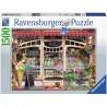 PUZZLE ravensburger GELATERIA softclick 1500 PEZZI ice cream shop 80 X 60 CM Ravensburger - 1