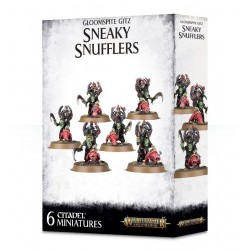 SNEAKY SNUFFLERS goblin GLOOMSPITE GITZ 6 miniature WARHAMMER Citadel AGE OF SIGMAR Games Workshop 12+ Games Workshop - 1