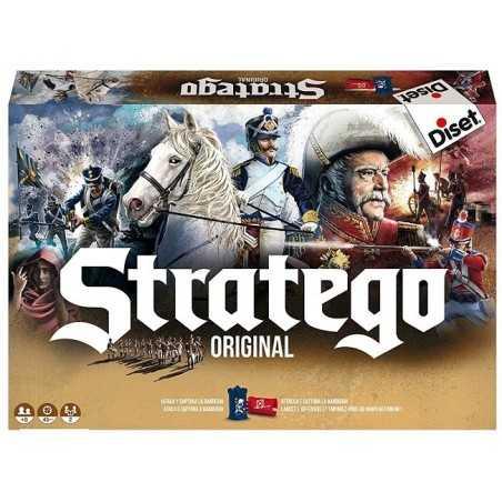 STRATEGO original IN ITALIANO classico gioco di strategia di battaglia DISET uno contro uno 8+ Raven Distribution - 1