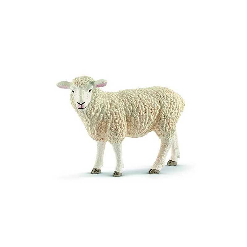 PECORA animali in resina SCHLEICH miniature 13882 Farm World SHEEP età 3+