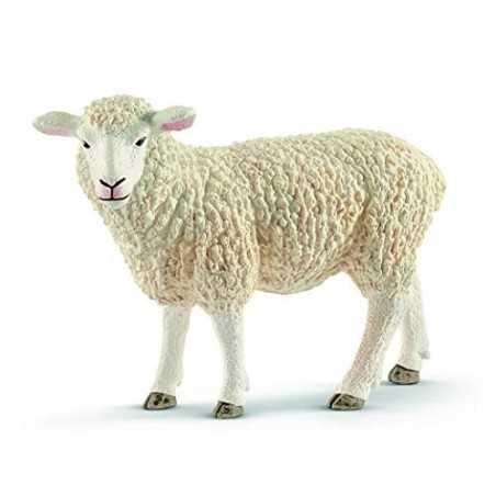 PECORA animali in resina SCHLEICH miniature 13882 Farm World SHEEP età 3+ Schleich - 1