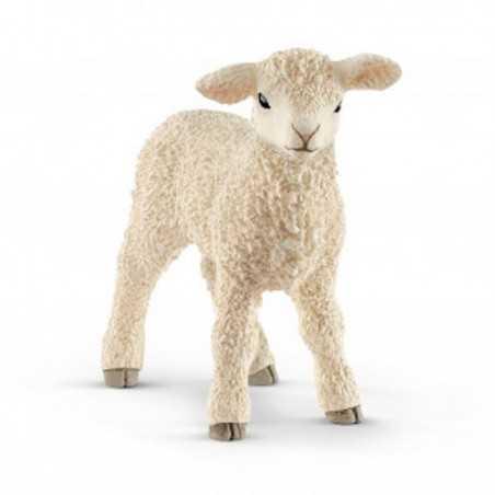 AGNELLO animali in resina SCHLEICH miniature 13883 Farm World LAMB età 3+ Schleich - 1