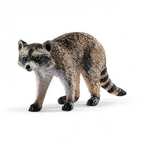 PROCIONE animali in resina SCHLEICH miniature 14828 Wild Life RACOON età 3+ Schleich - 1