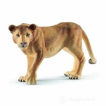 LEONESSA animali in resina SCHLEICH miniature 14825 Wild Life LION età 3+ Schleich - 1