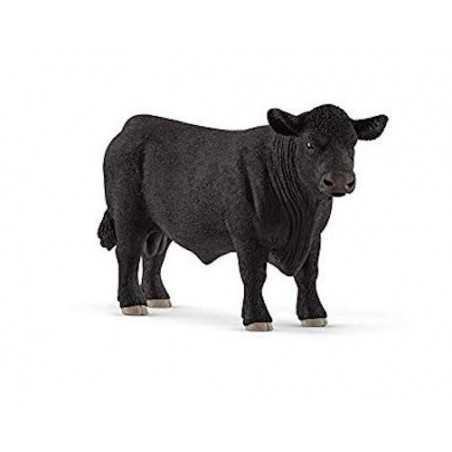 TORO BLACK ANGUS animali in resina SCHLEICH miniature 13879 Farm World BOVINI età 3+ Schleich - 1