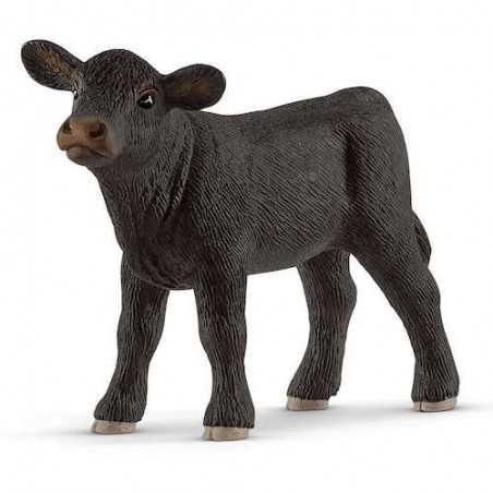 VITELLO BLACK ANGUS animali in resina SCHLEICH miniature 13880 Farm World BOVINI età 3+ Schleich - 1