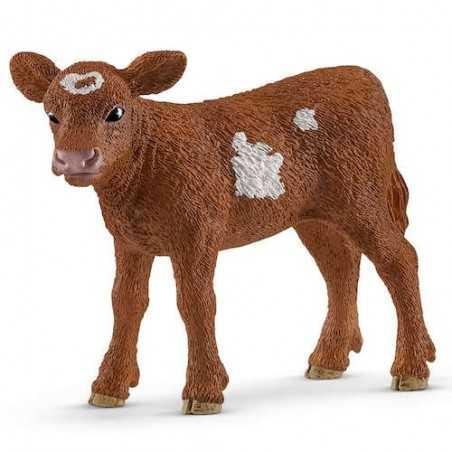VITELLO TEXAS LONGHORN animali in resina SCHLEICH miniature 13881 Farm World BOVINI età 3+ Schleich - 1